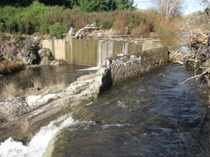 The 'new' Tuapeka Dam